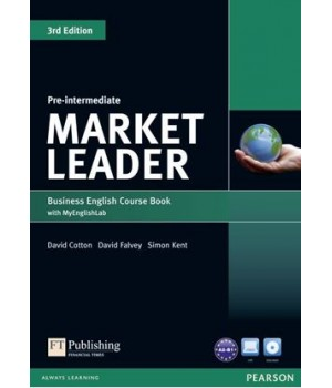Підручник Market Leader (3rd Edition) Pre-Intermediate Coursebook with DVD-ROM and MyEnglishLab
