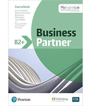 Підручник Business Partner B2+ Student's Book and MyEnglishLab