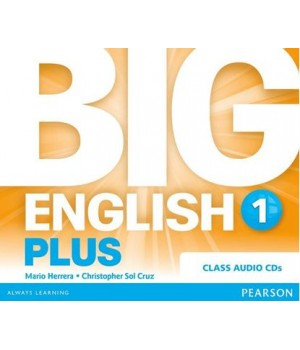 Диски Big English Plus 1 Class Audio CDs