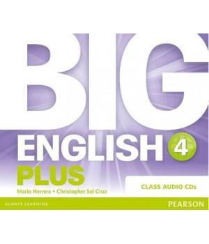 Диски Big English Plus 4 Class Audio CDs