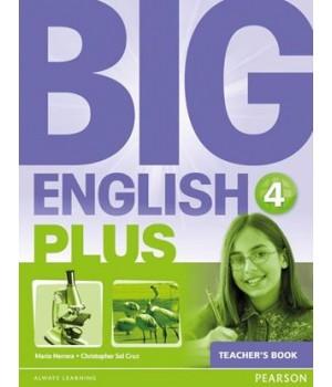 Книга для вчителя Big English Plus 4 Teacher's Book