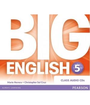 Диски Big English Plus 5 Class Audio CDs