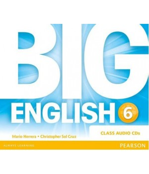 Диски Big English Plus 6 Class Audio CDs
