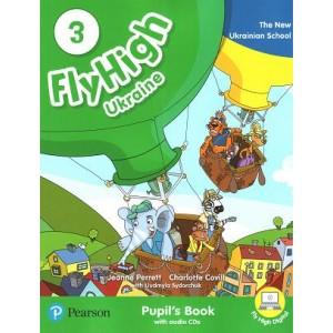Підручник Fly High Ukraine 3 Pupil's Book + Audio CD