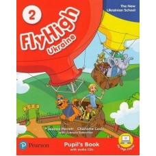 Fly High Ukraine 2 Pupil's Book + Audio CD