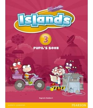 Підручник Islands 3 Student's Book + pincode