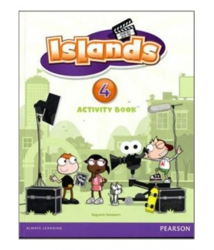 Робочий зошит Islands 4 Activity Book + pincode