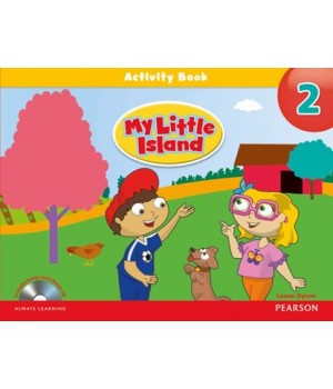 Рабочая тетрадь My Little Island 2 Activity Book + Songs/Chants CD