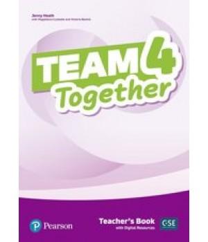 Книга для вчителя Team Together 4 Teacher's Book with Digital Resources