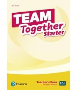 Книга для вчителя Team Together Starter Teacher's Book with Digital Resources