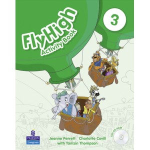 Робочий зошит Fly High 3 Activity Book + CD-ROM