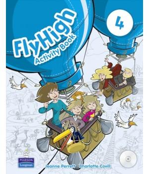 Рабочая тетрадь Fly High 4 Activity Book + CD-ROM