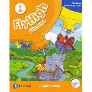 Підручник Fly High Ukraine 1 Pupil's Book + Audio CD