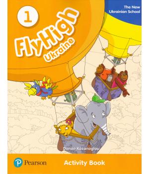 Рабочая тетрадь Fly High Ukraine 1 Activity Book