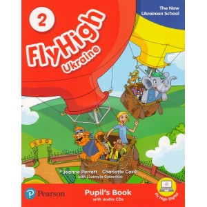 Підручник Fly High Ukraine 2 Pupil's Book + Audio CD