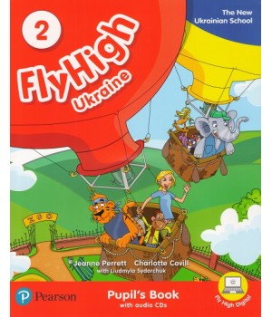 Підручник Fly High Ukraine 2 Pupil's Book + Audio CD