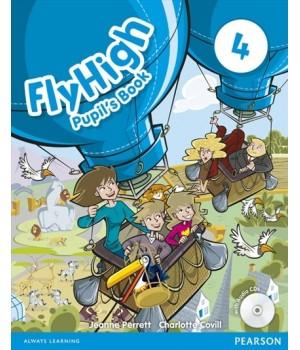 Підручник Fly High 4 Pupil's Book + Audio CD