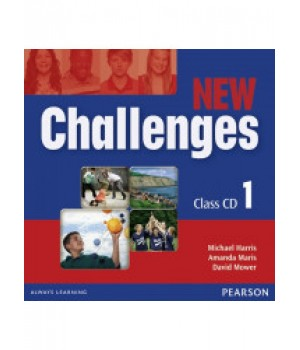 Диски New Challenges 1 Class CDs