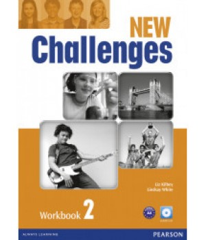 Робочий зошит New Challenges 2 Workbook & Audio CD Pack