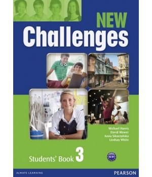 Учебник New Challenges 3 Students' Book