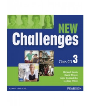 Диски New Challenges 3 Class CDs