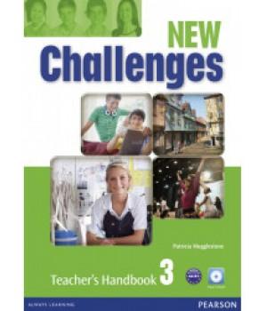 Книга для вчителя New Challenges 3 Teacher's Handbook & Multi-ROM Pack