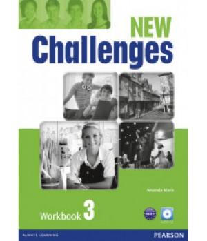 Рабочая тетрадь New Challenges 3 Workbook & Audio CD Pack