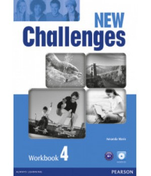 Робочий зошит New Challenges 4 Workbook & Audio CD Pack