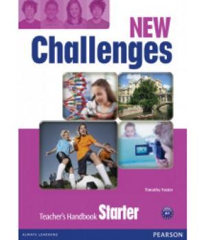 Книга для вчителя New Challenges Starter Teacher's Handbook & Multi-ROM Pack