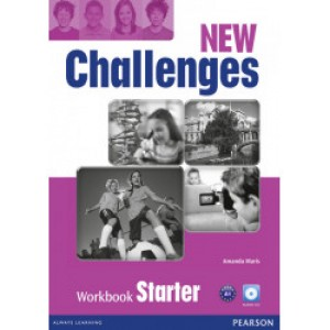Робочий зошит New Challenges Starter Workbook & Audio CD Pack