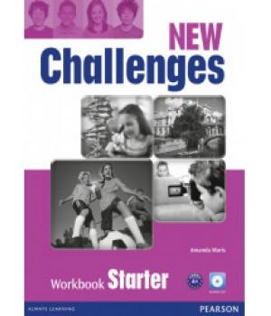 Рабочая тетрадь New Challenges Starter Workbook & Audio CD Pack