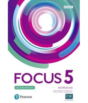 Робочий зошит Focus Second Edition 5 Workbook