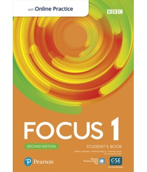 Підручник Focus Second Edition 1 Student's Book with Online Practice
