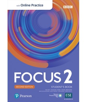 Підручник Focus Second Edition 2 Student's Book with Online Practice
