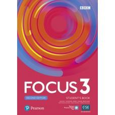 Підручник Focus Second Edition 3 Student's Book + Active Book