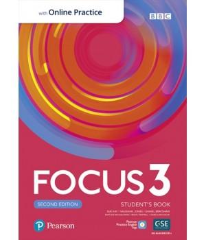 Підручник Focus Second Edition 3 Student's Book with Online Practice