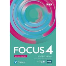 Підручник Focus Second Edition 4 Student's Book + Active Book