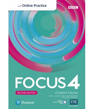 Підручник Focus Second Edition 4 Student's Book with Online Practice