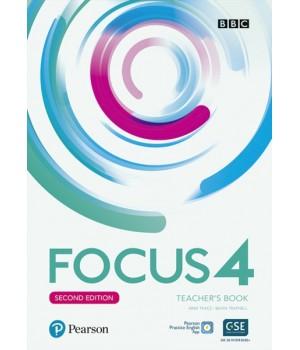 Книга для вчителя Focus Second Edition 4 Teacher's Book