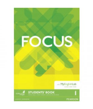 Підручник Focus 1 (A2) Student's Book with MyEnglishLab