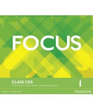 Диски Focus 1 (A2) Class Audio CDs (Set of 3)