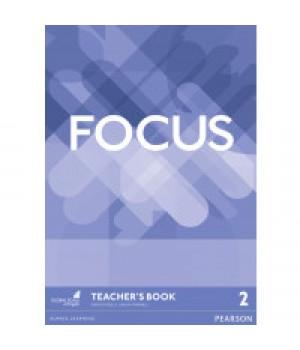Книга для вчителя Focus 2 (B1) Teacher's Book + DVD-ROM