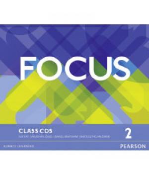 Диски Focus 2 (B1) Class Audio CDs (Set of 3)