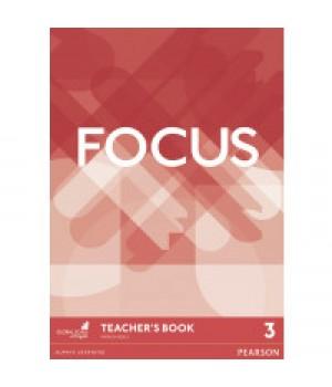 Книга для вчителя Focus 3 (B1+) Teacher's Book + DVD-ROM