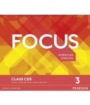Диски Focus 3 (B1+) Class Audio CDs (Set of 3)