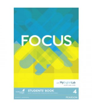 Підручник Focus 4 (B2) Student's Book with MyEnglishLab