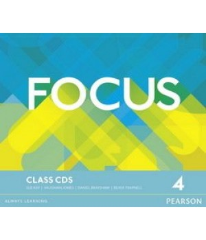 Диски Focus 4 (B2) Class Audio CDs (Set of 3)