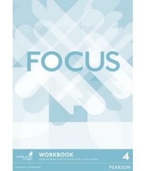 Рабочая тетрадь Focus 4 (B2) Workbook