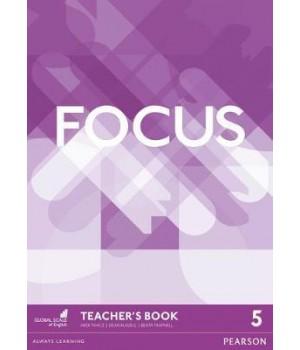 Книга для вчителя Focus 5 (C1) Teacher's Book + DVD-ROM
