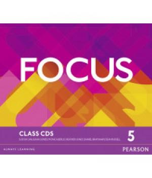 Диски Focus 5 (C1) Class Audio CDs (Set of 3)